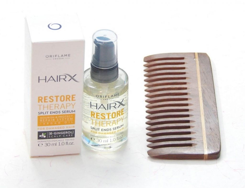 HairX Restore Therapy Split Ends Serum: Review