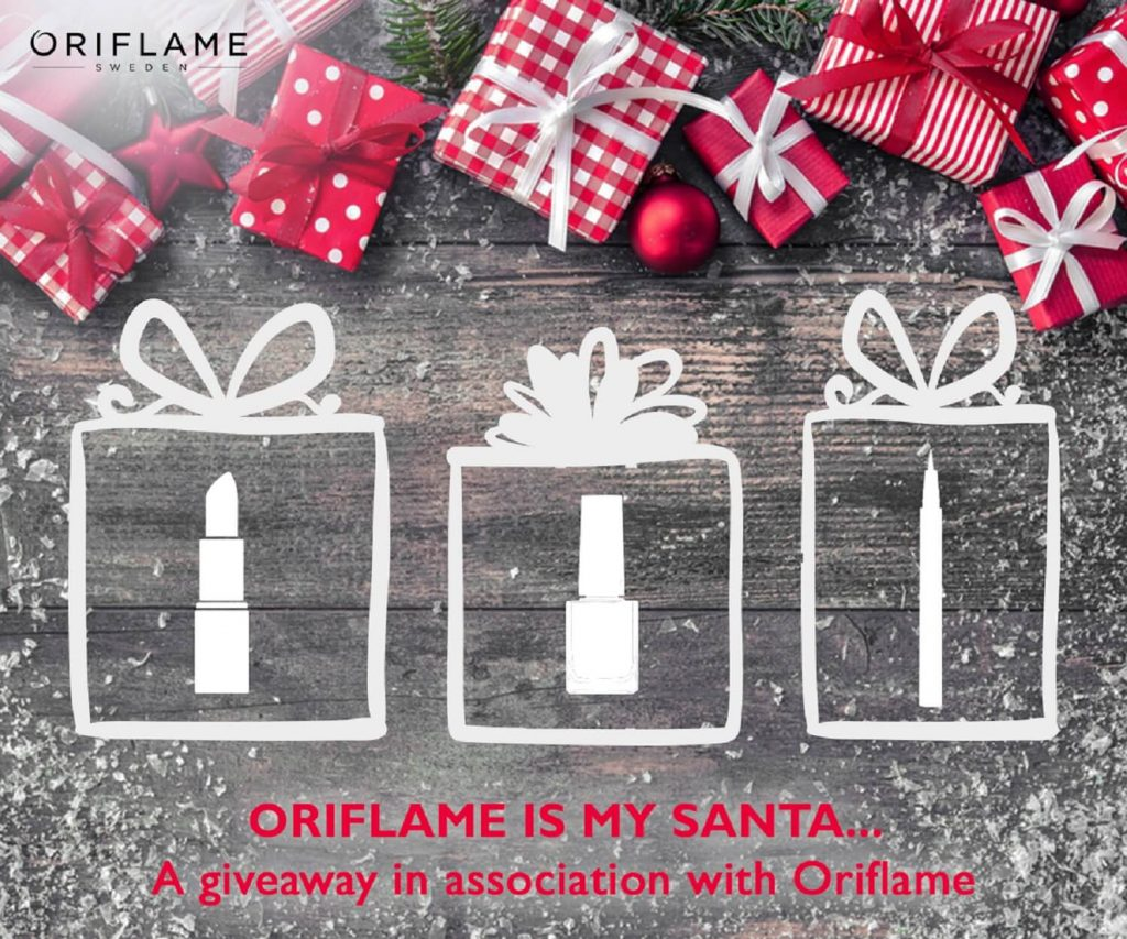 Oriflame is my Santa Giveaway
