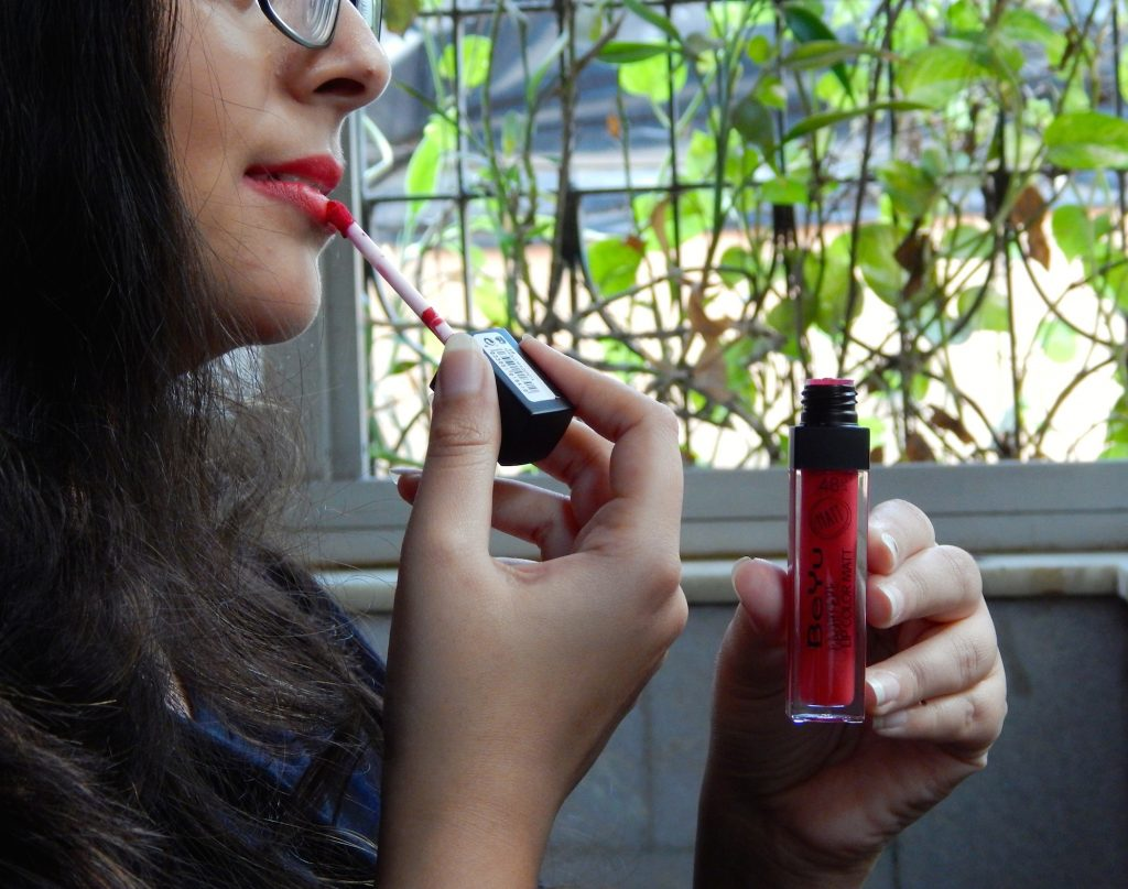BeYu Cashmere Lip Color Matt Magic Magenta: Review and Swatches