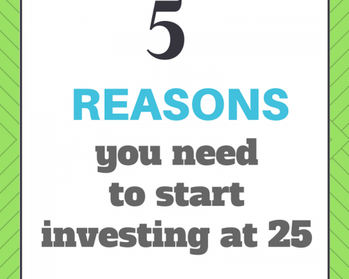 5 reasons you need to start investing at 25