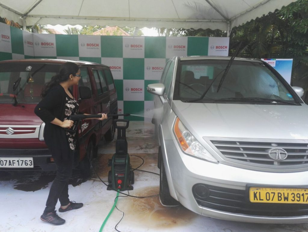 Experiencing the Bosch Aquatak High Pressure Washer
