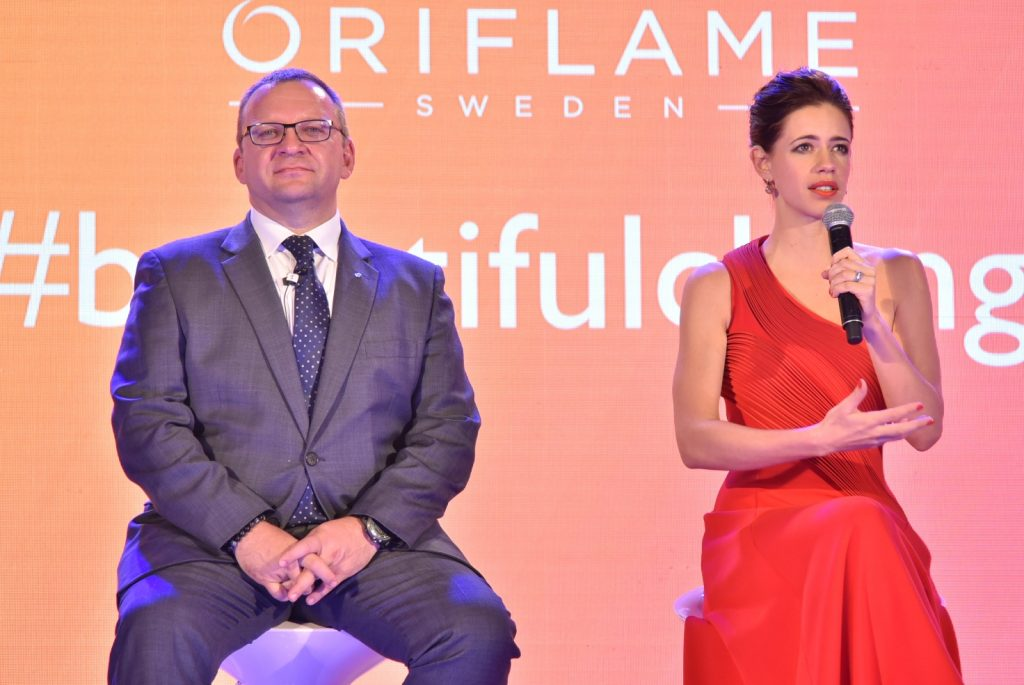 Oriflame makes 'A Beautiful Change'