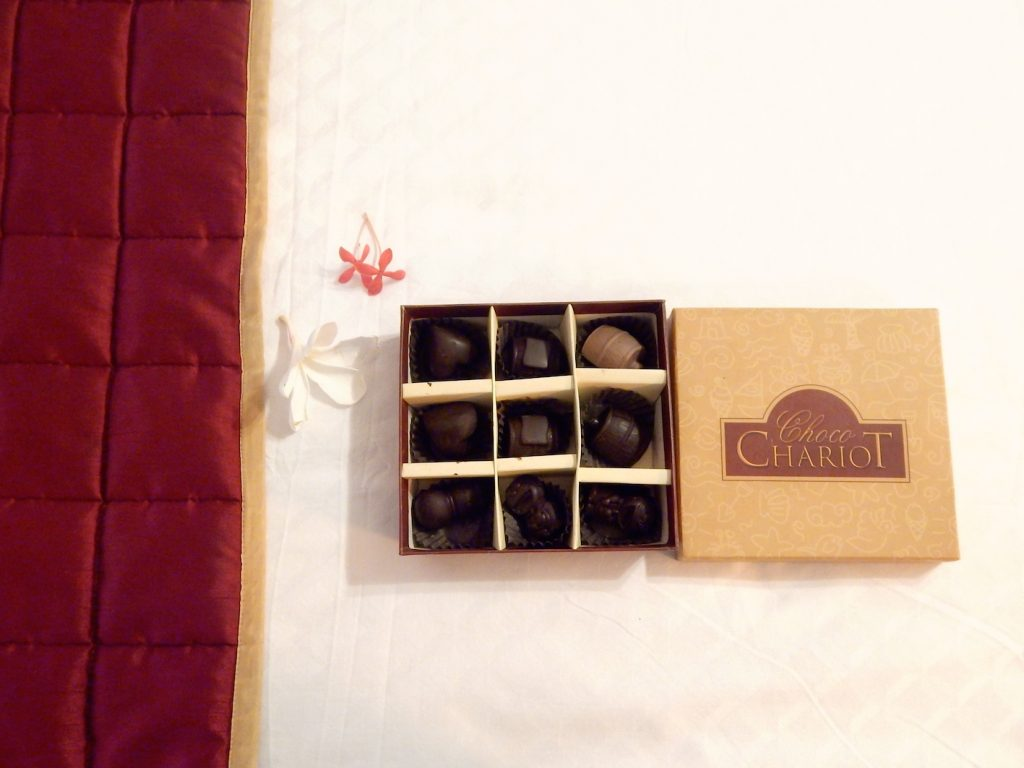 Chocolates by Chariot Beach Resort