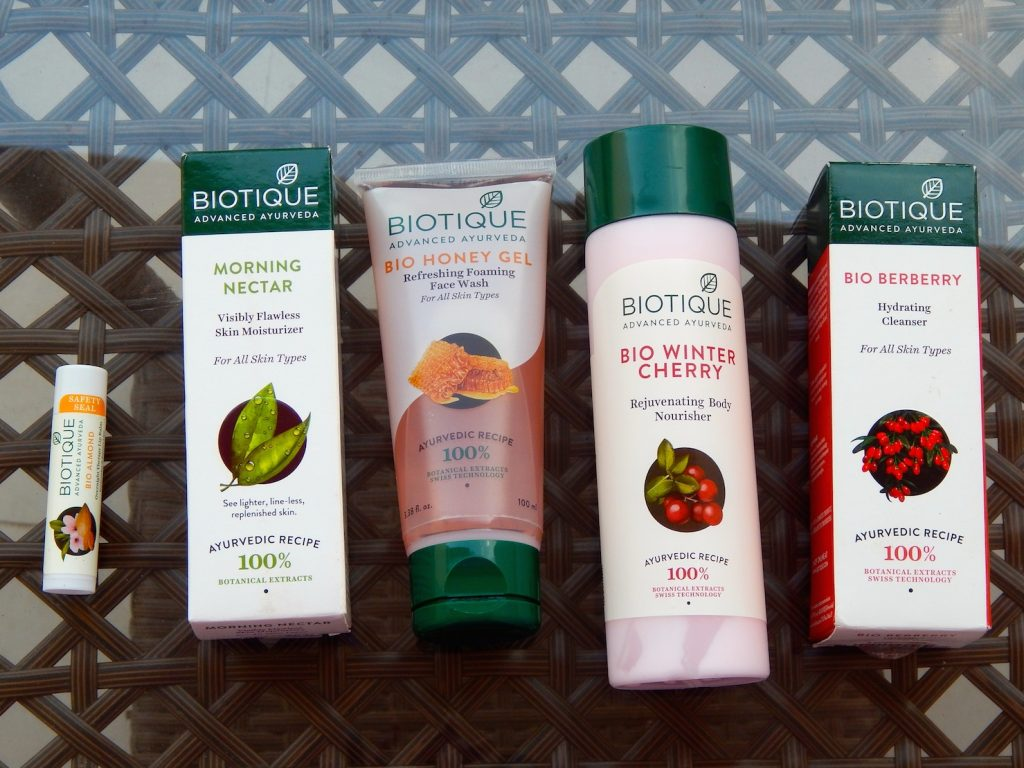 Skin care review Biotique