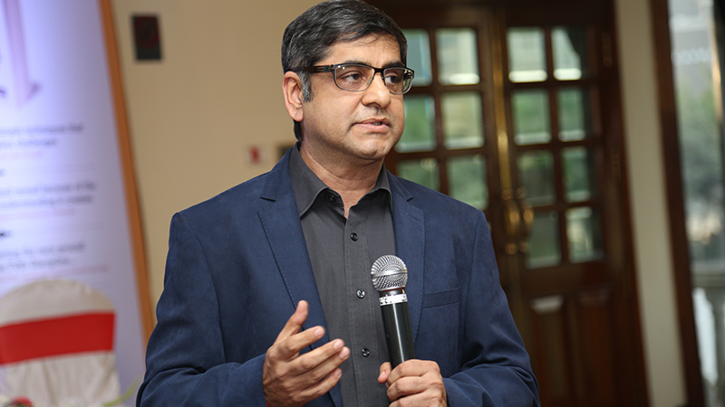 Lalit Jagtiani, author, When Change Happens