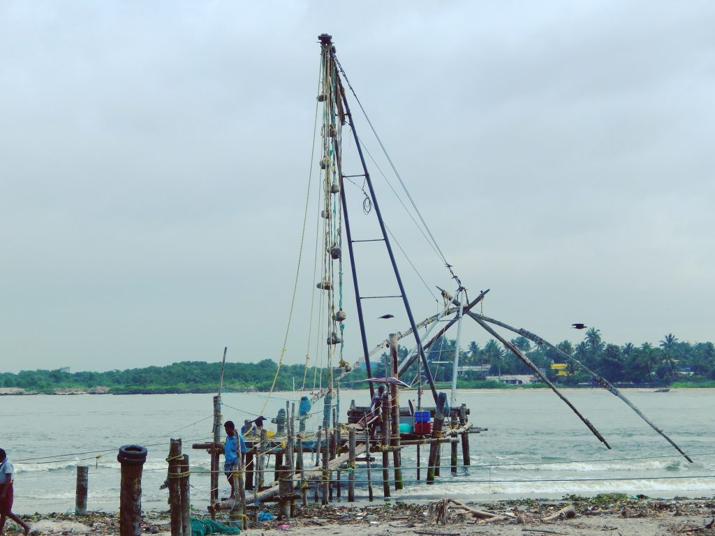 chinese fishing nets kochi, chinese fishing nets kerala,