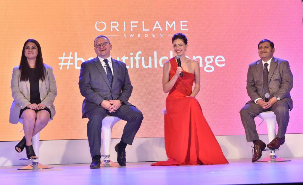 Oriflame, A beautiful change