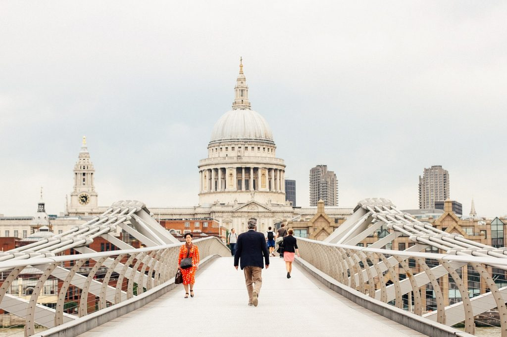 The Millennium Bridge at London , 7 Offbeat places to visit in London