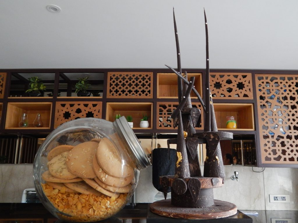 Chocolate Sculpture at COCO
