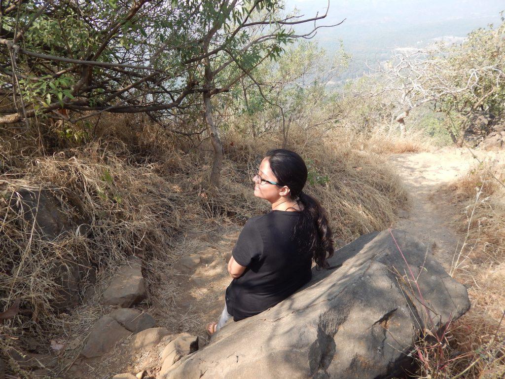Trekking at karnala