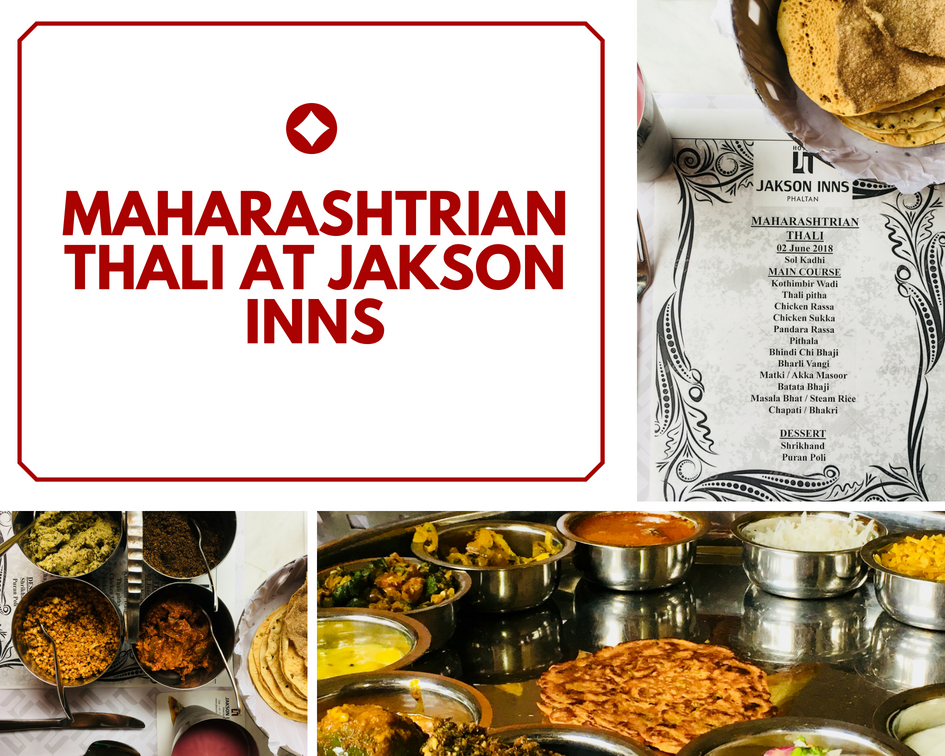 Traditional Maharashtrian Thali at Jakson Inns