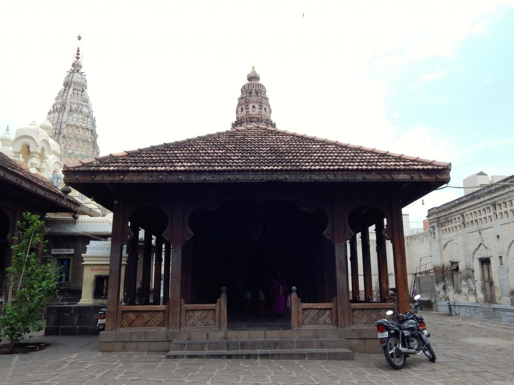 Rajwada Palace temple