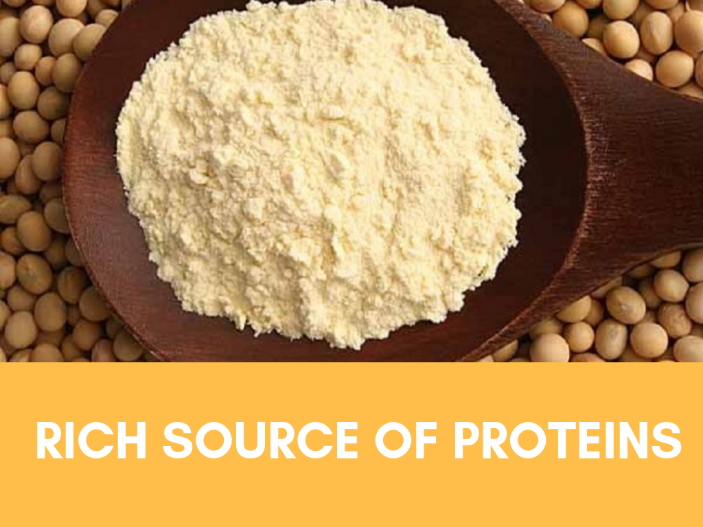 benefits of soy proteins