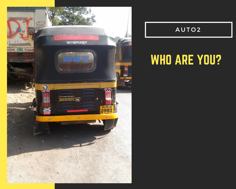 Funny autorickshaw India