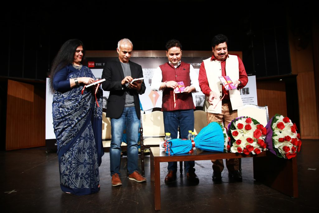 Write India Book 2 launched at Times Lit Fest Delhi