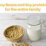 Soybeans and soy proteins
