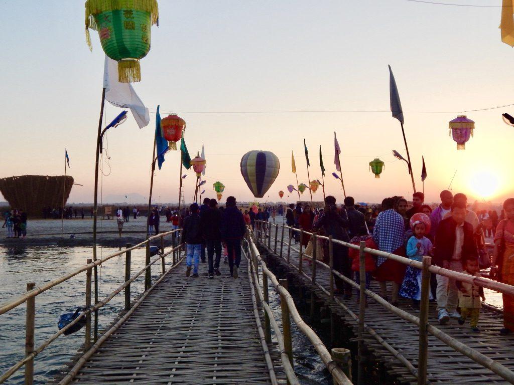 Dwijing Festival 2019 bridge