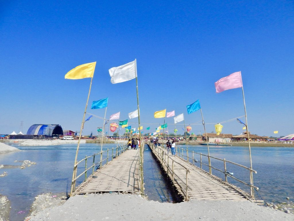 Dwijing Festival 2019 bridge