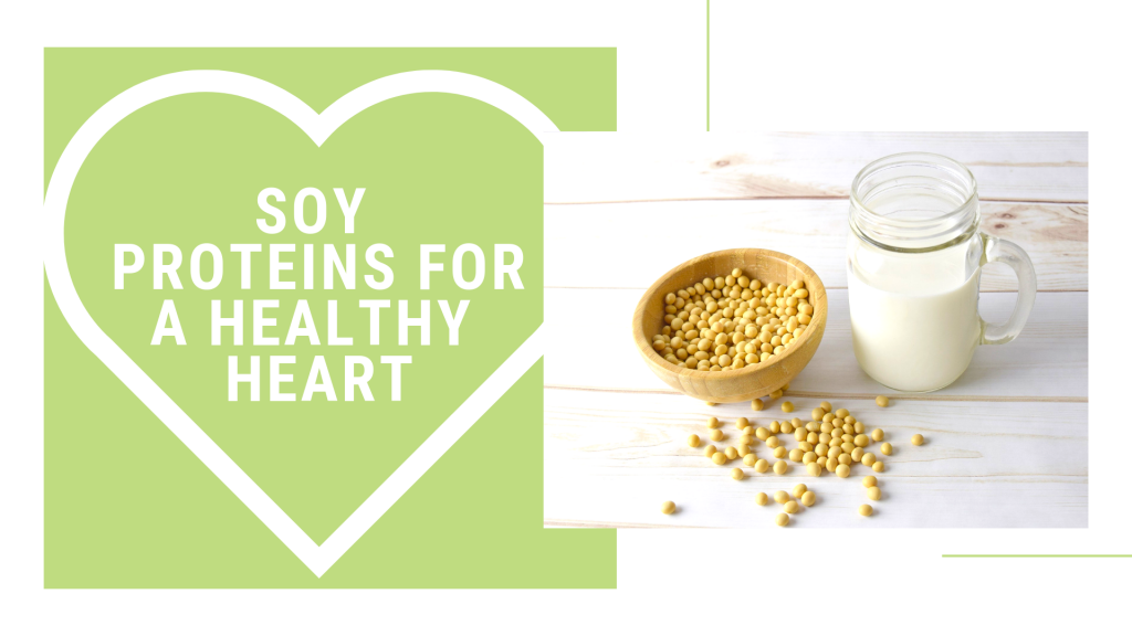 Soy proteins for heart health