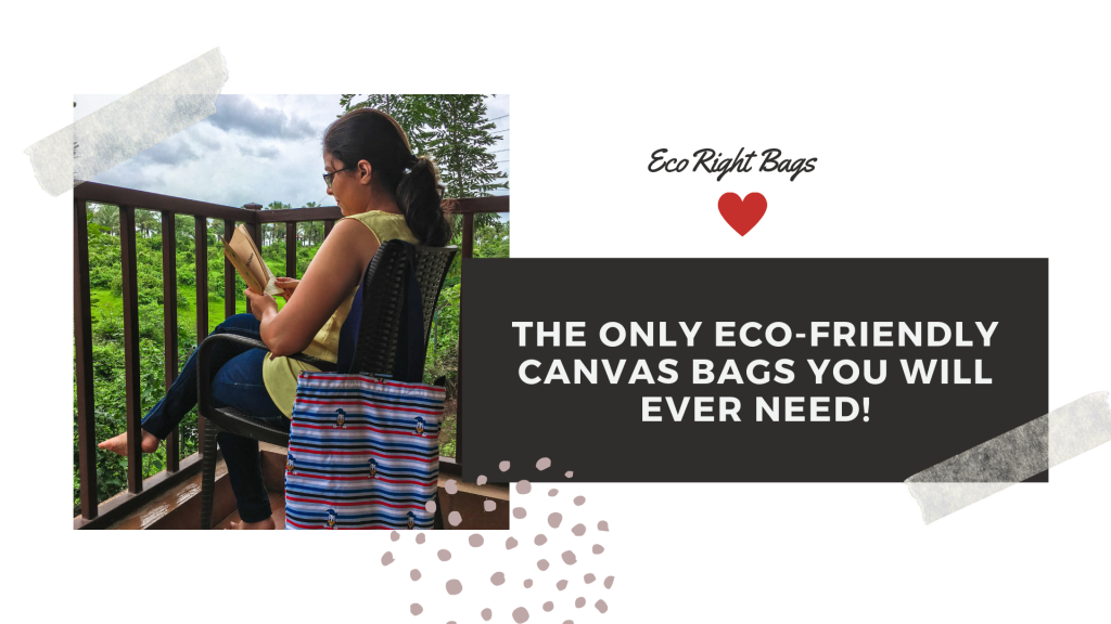 Sustainable, eco friendly travel bag