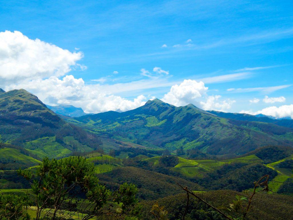 View of Munnar from Eravikulam National Park